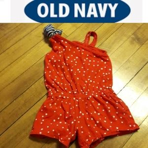 Size 2T Baby girls stary one piece romper